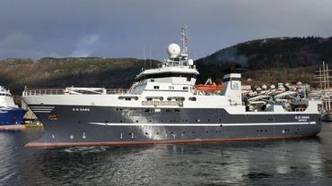 The research vessel G.O.Sars